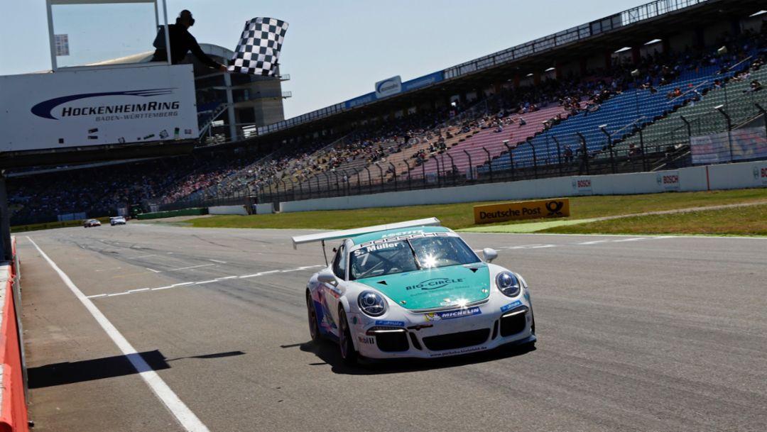 Sven Müller, 911 GT3 Cup, Porsche Carrera Cup Deutschland, Hockenheimring, 2016, Porsche AG