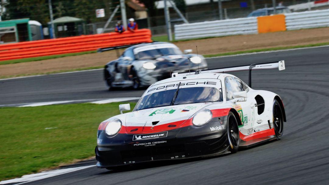 911 RSR, Rennen, Silverstone, FIA WEC, 2018, Porsche AG