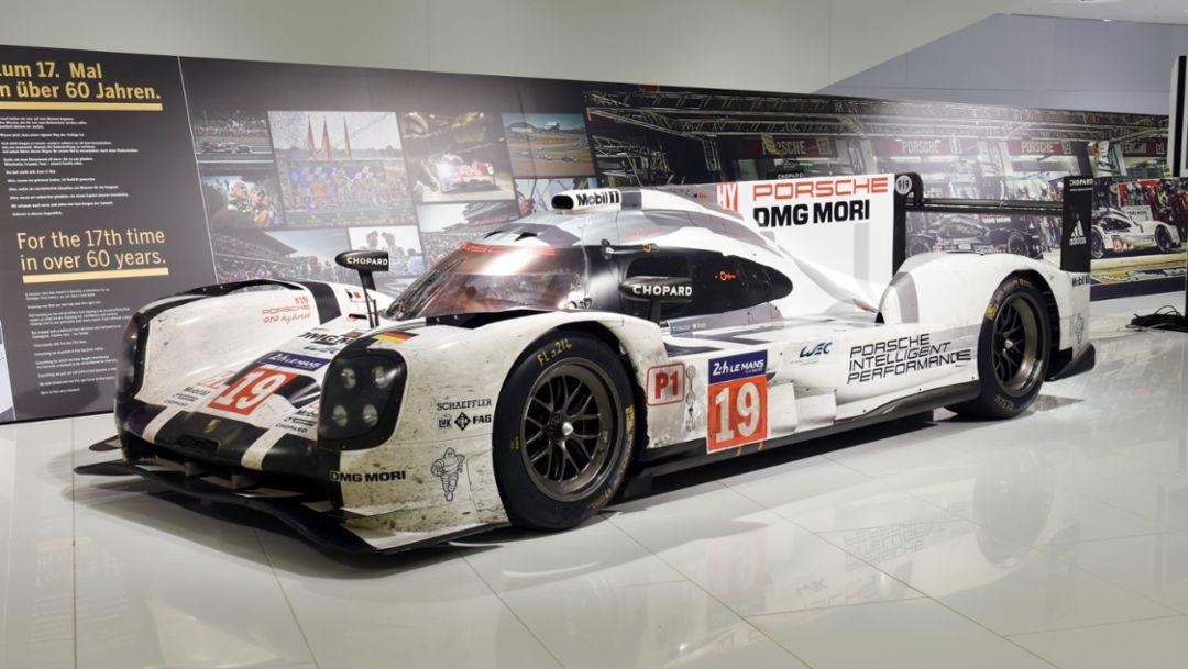 Porsche 919 Hybrid, Porsche-Museum, 2015, Porsche AG
