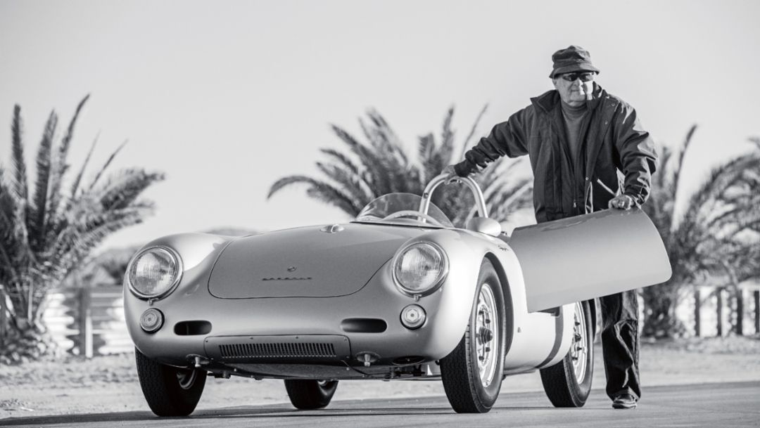 Lew Bracker, Thermal Club racetrack, California, 2017, Porsche AG