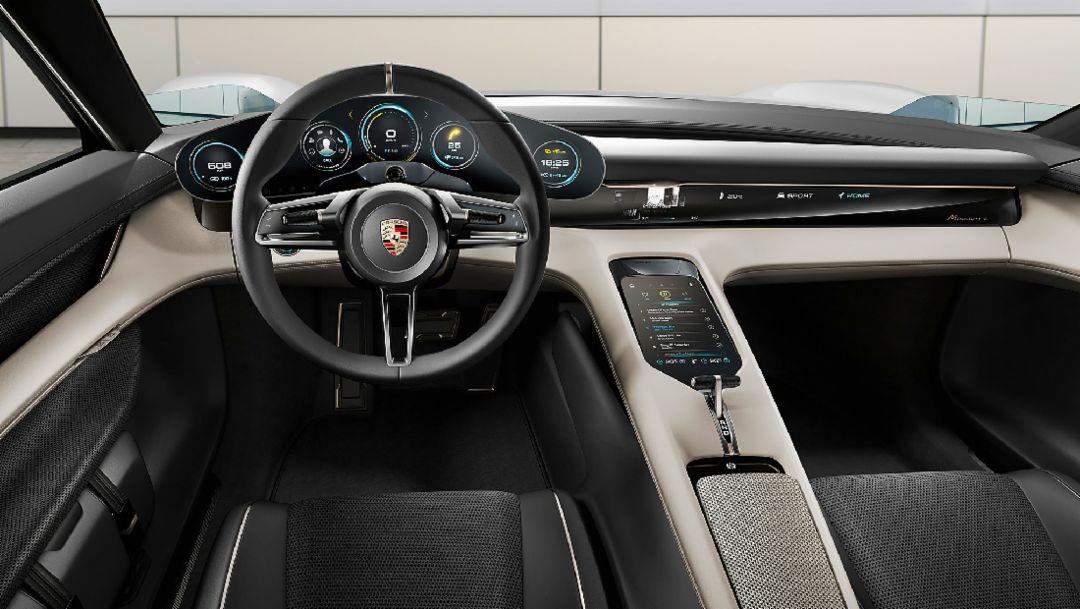 Mission E concept car, 2018, Porsche AG