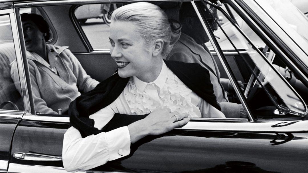 Grace Kelly, 1955, Porsche AG