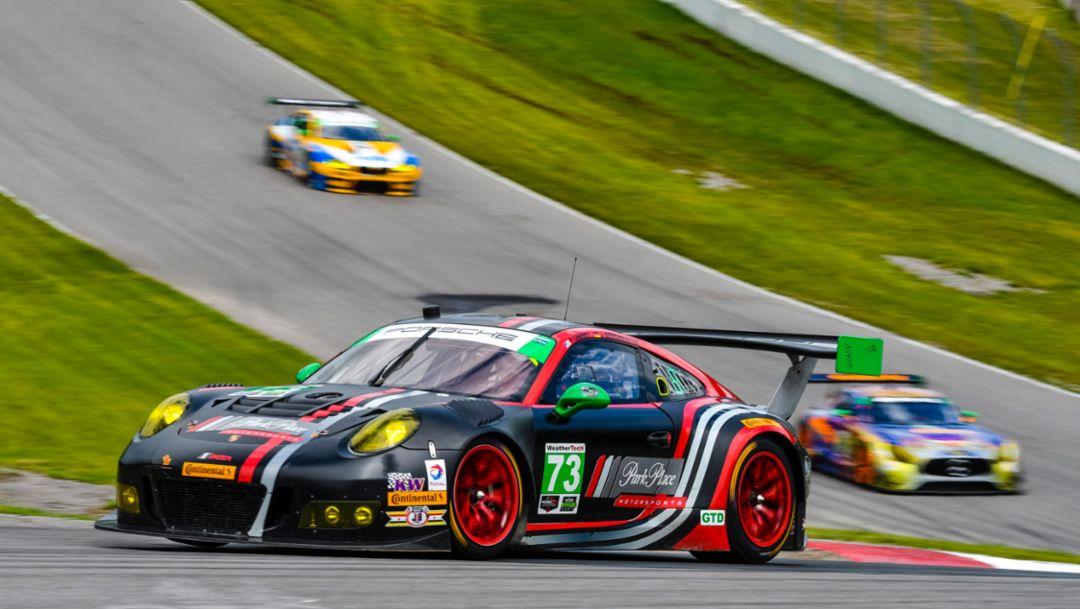 911 GT3 R, IMSA WeatherTech Sportscar Championship, race, Bowmanville, Canada, 2017, Porsche AG
