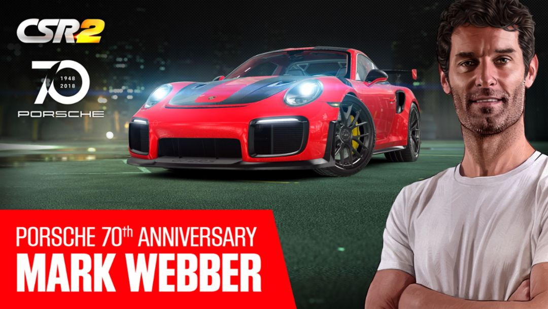 CSR2: Driving Webber's GT2 RS
