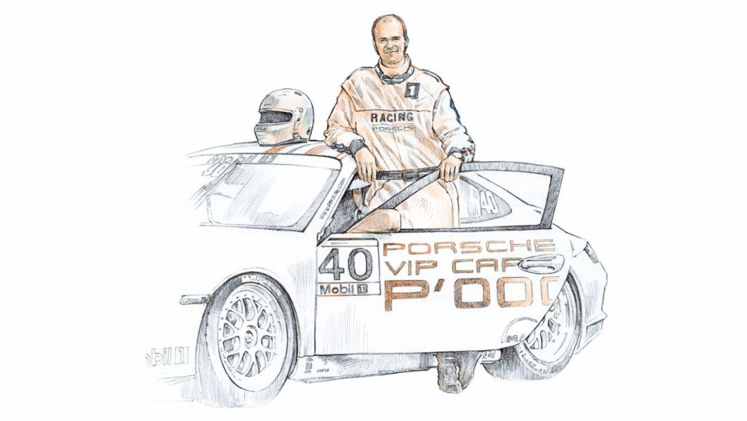 Fürst Albert II., Porsche AG