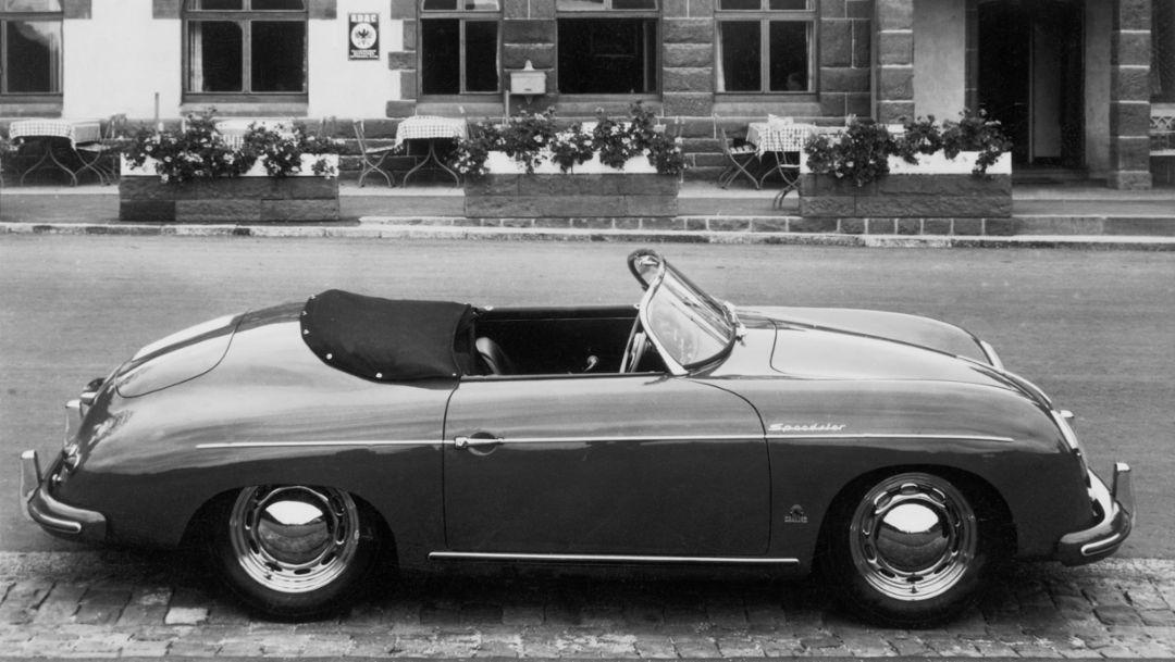 Porsche Speedster seit mehr als sechs Jahrzehnten dem Fahrspaß verpflichtet