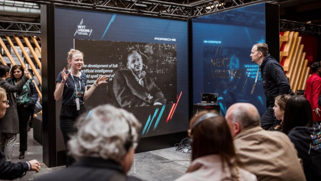 Alissa Wilms, re:pulica 2019, Porsche AG