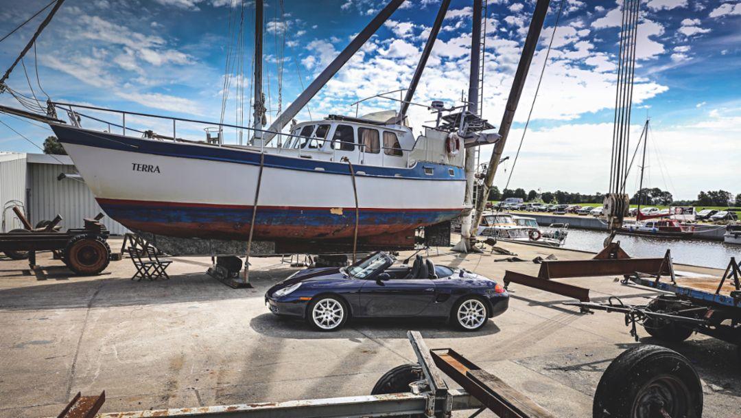 986 Boxster, Bremerhaven, 2018, Porsche AG