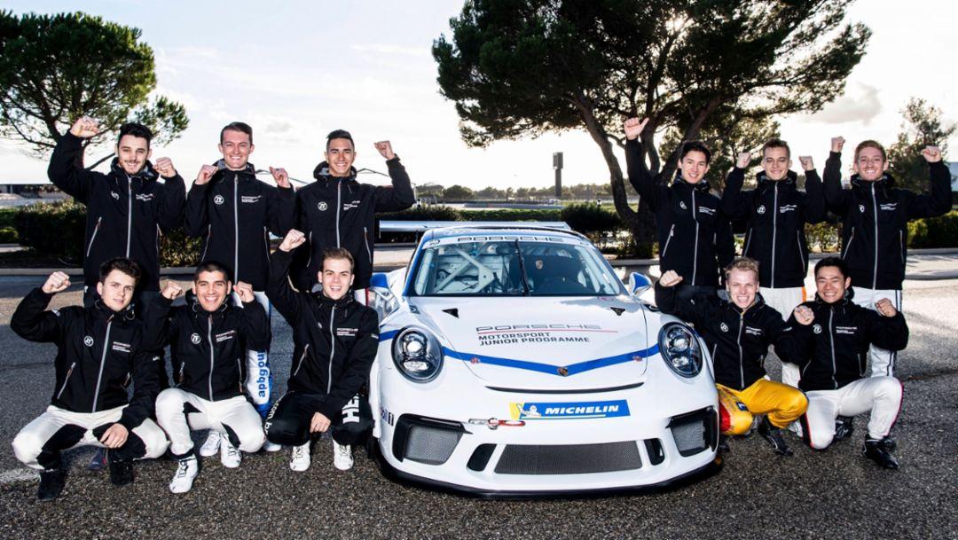 Porsche Motorsport: Wer wird Porsche-Junior 2019?