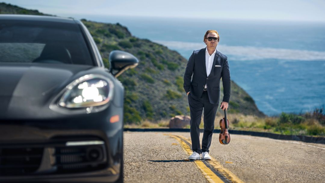 Short Break for Daniel Hope—in a Porsche Panamera