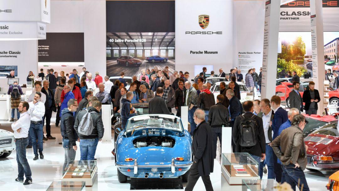 Porsche auf der Techno Classica 2017