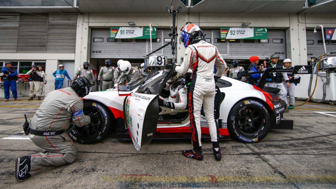 911 RSR, 919 Hybrid, WEC, Qualifying, Round 4, Nürburgring, 2017, Porsche AG