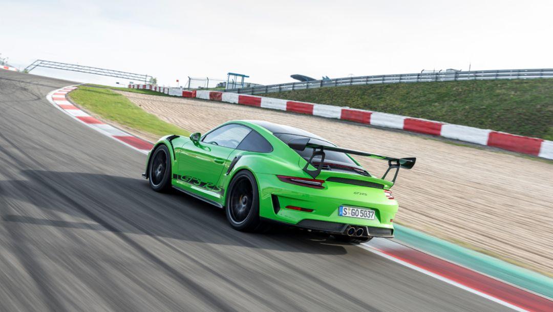 911 GT3 RS, Nürburgring, 2018, Porsche AG