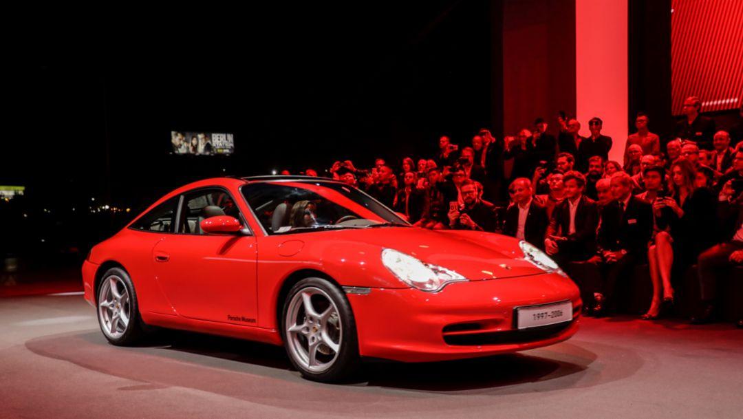 911 (996), world premiere Porsche 911, Los Angeles, 2018, Porsche AG