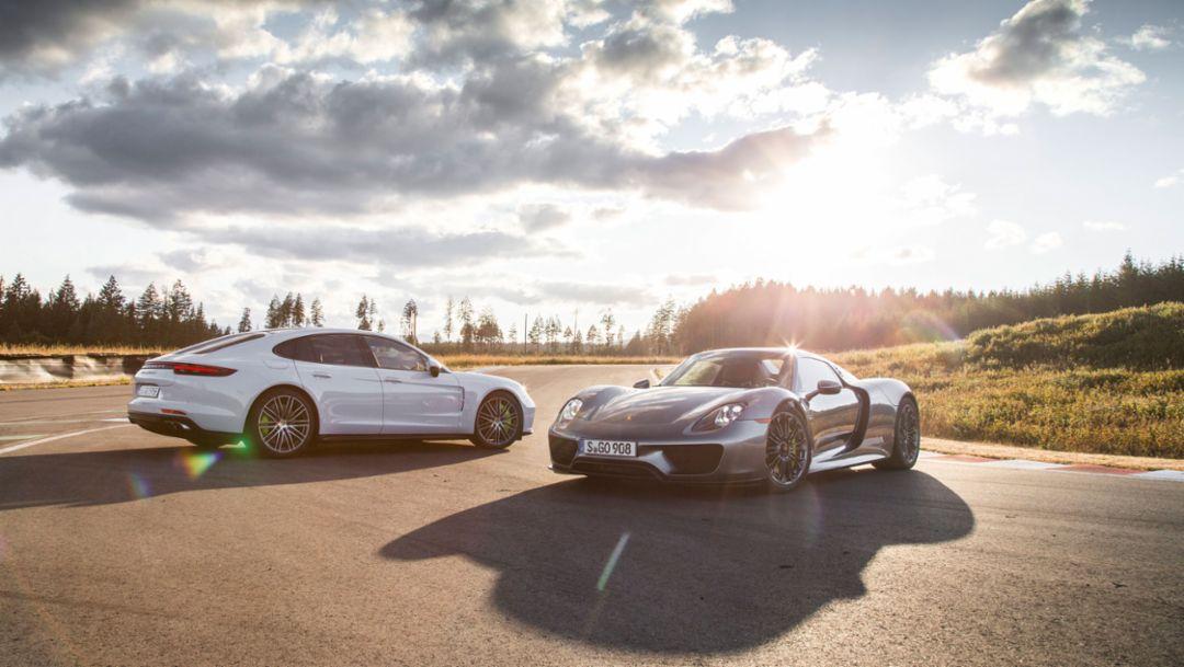 Panamera Turbo S E-Hybrid, 918 Spyder, Canada, 2017, Porsche AG