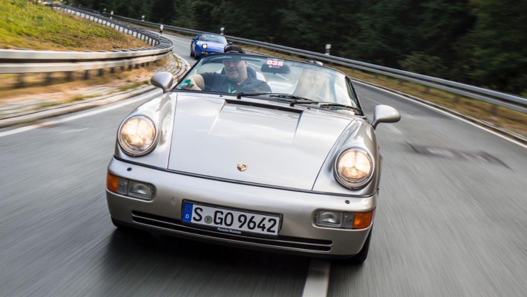 911 Carrera 2 Speedster, Sachsen Classic 2018, Porsche AG