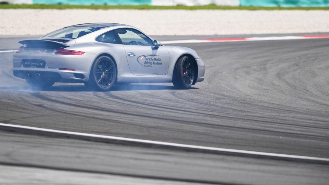 911 Carrera S, Sepang International Circuit, Porsche Asia Pacific, 2016, Porsche AG