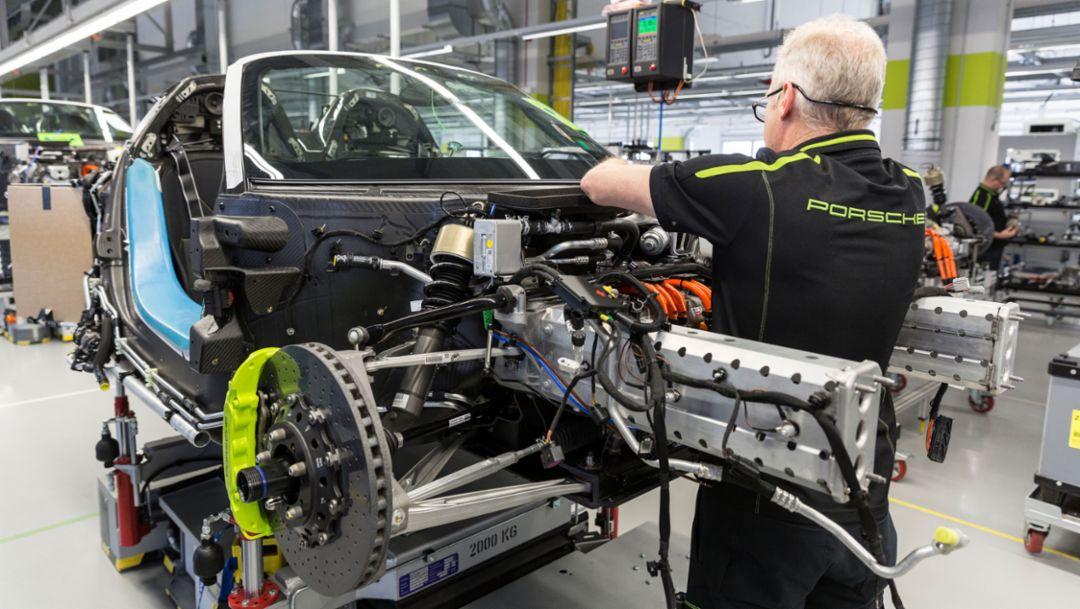 918 Spyder, Manufaktur, Zuffenhausen, 2015, Porsche AG
