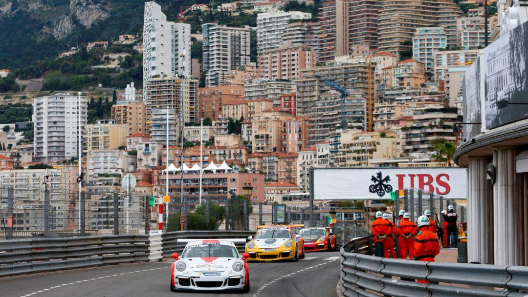 Jaap van Lagen, Porsche Mobil 1 Supercup Monaco 2015, Porsche AG