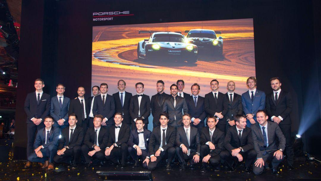 Основное внимание гонкам GT: Porsche планирует выступить в Ле-Мане с четырьмя автомобилями