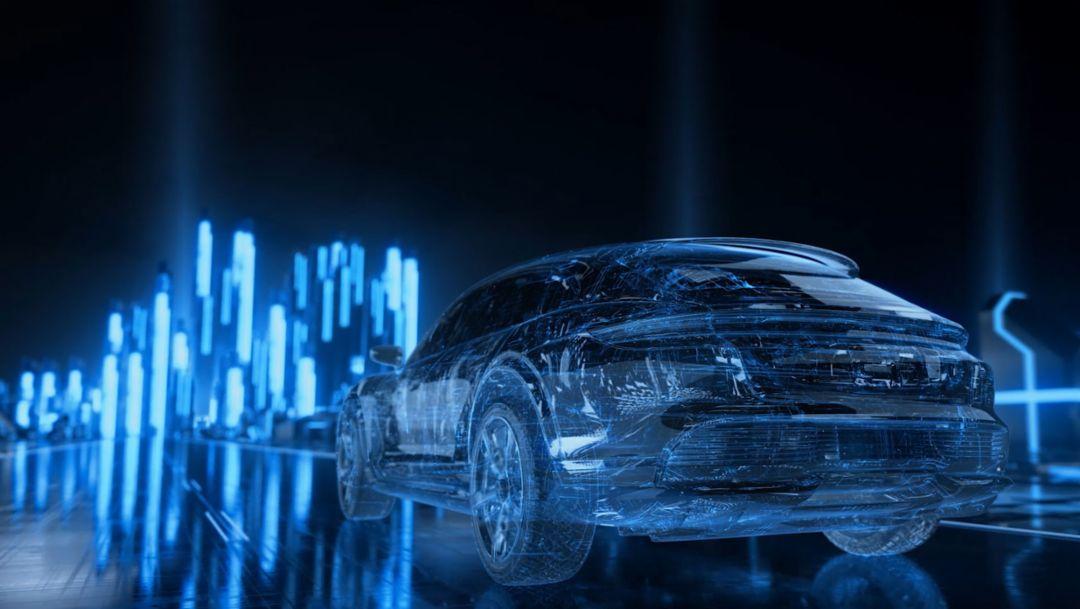Виртуальные прототипы Porsche – уже на Нюрбургринге