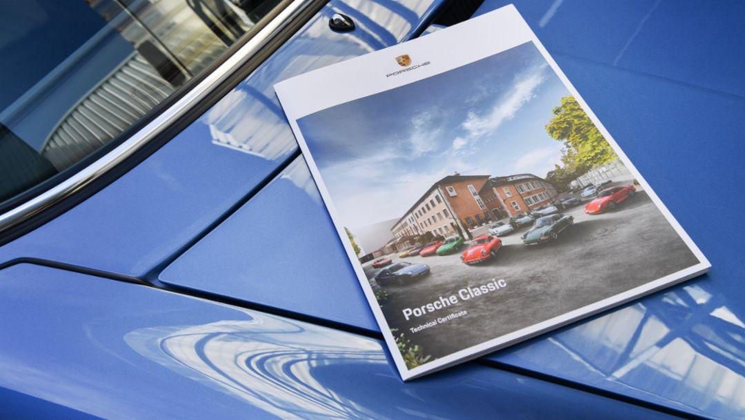 Neu: Technisches Zertifikat für Porsche Klassiker