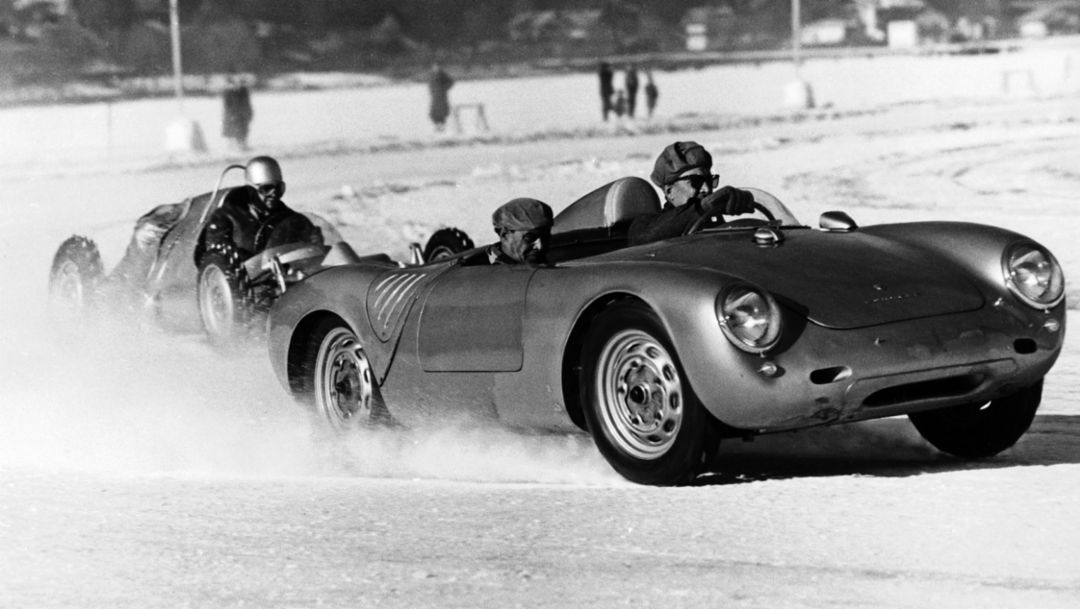 Ice Race, Zell am See, 1959, Porsche AG
