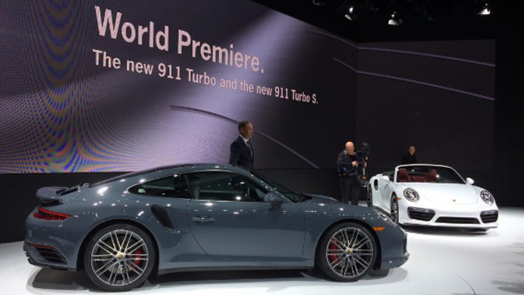 Porsche in Detroit: Der neue 911 Turbo