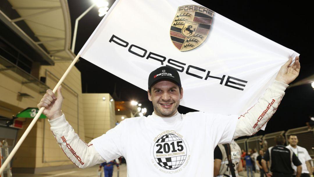 Porsche Team Manthey: Richard Lietz, WEC Bahrain 2015, Porsche AG
