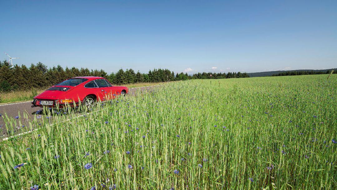 Perfekt getarnt: Hans Mezgers Porsche 911 S