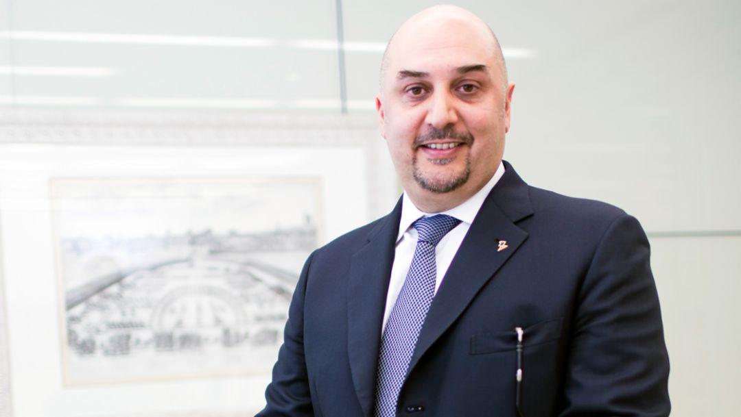 Enrico Aureli, CEO of the Aetna Group, 2016, Porsche Consulting GmbH