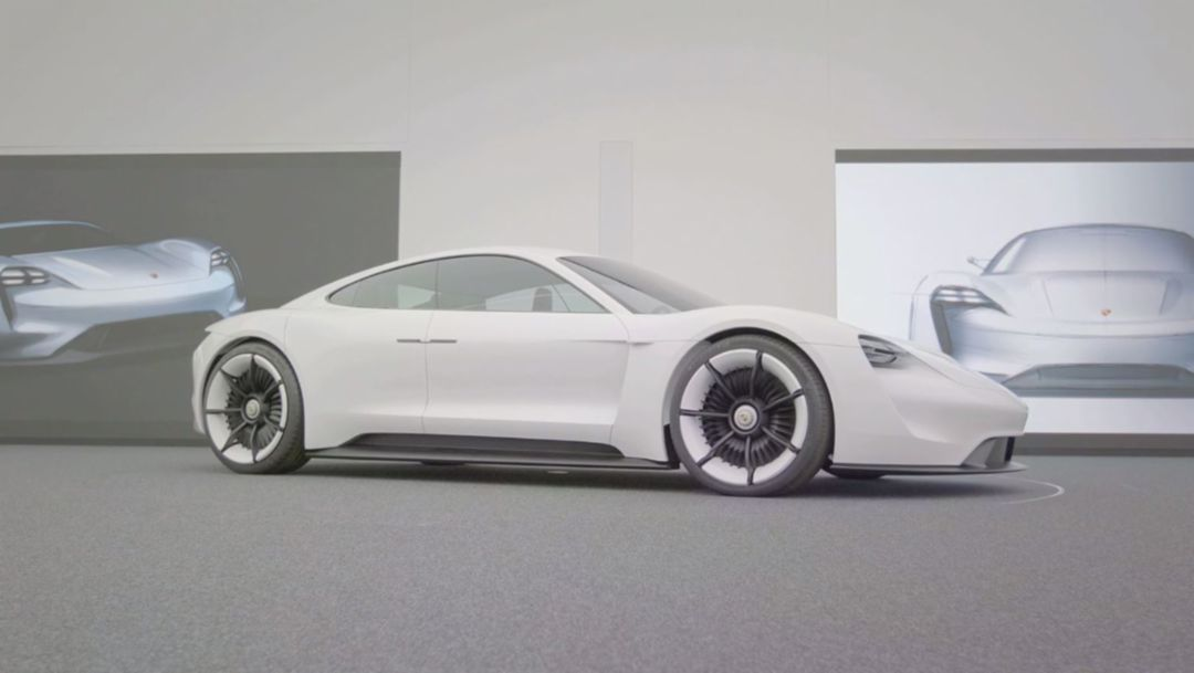 Mission E: Porsche design of the future