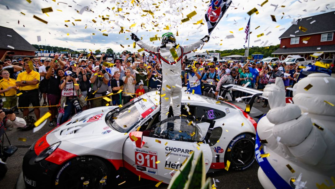IMSA: Sechster Sieg im neunten Rennen für Porsche GT Team