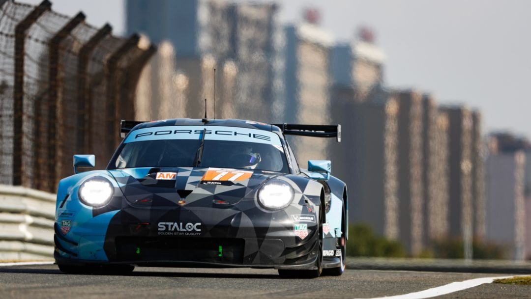 911 RSR, Dempsey Proton Racing (77), qualifying, round five, FIA WEC, Shanghai, 2018, Porsche AG