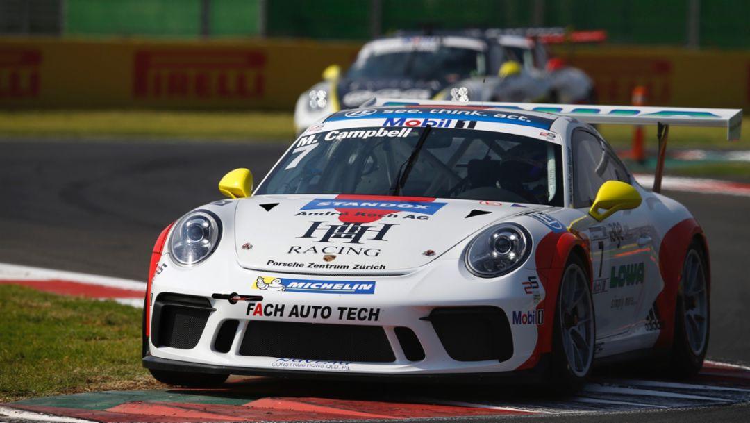 911 GT3 Cup, Porsche Mobil 1 Supercup, race 10, Mexico, 2017, Porsche AG