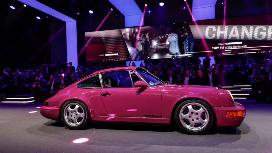 911 (964), world premiere Porsche 911, Los Angeles, 2018, Porsche AG