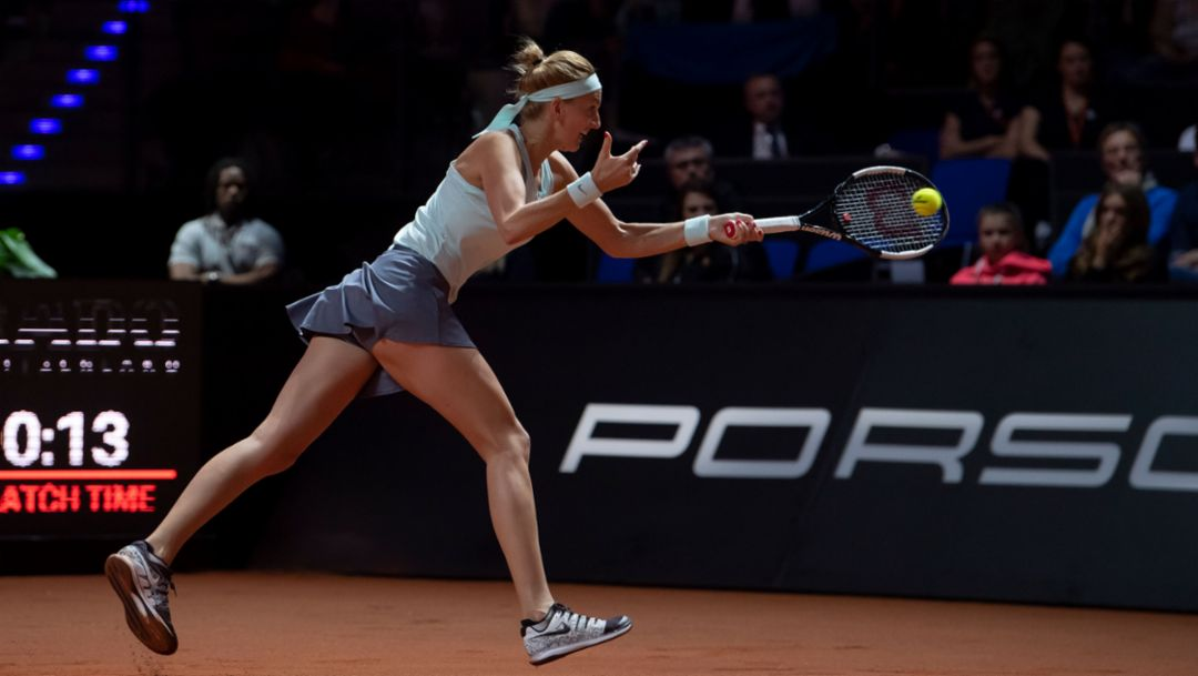 Der 42. Porsche Tennis Grand Prix 2019 in Stuttgart