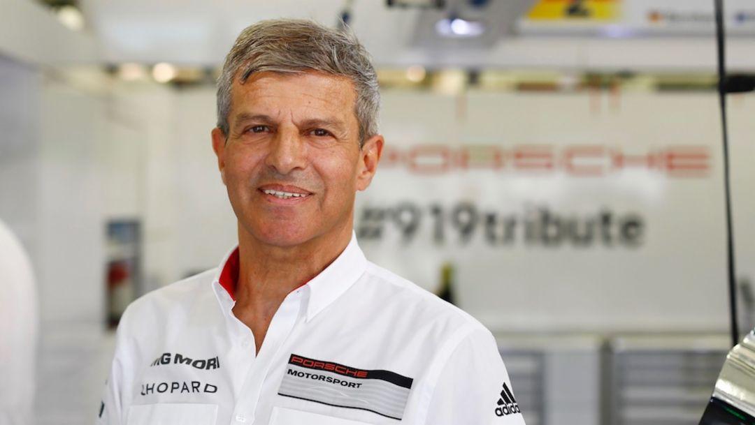 Fritz Enzinger, Vice President LMP1, WEC, Bahrain, 2017, Porsche AG
