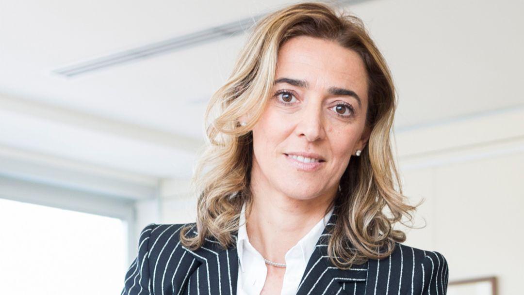 Valentina Aureli, CEO of the Aetna Group, 2016, Porsche Consulting GmbH