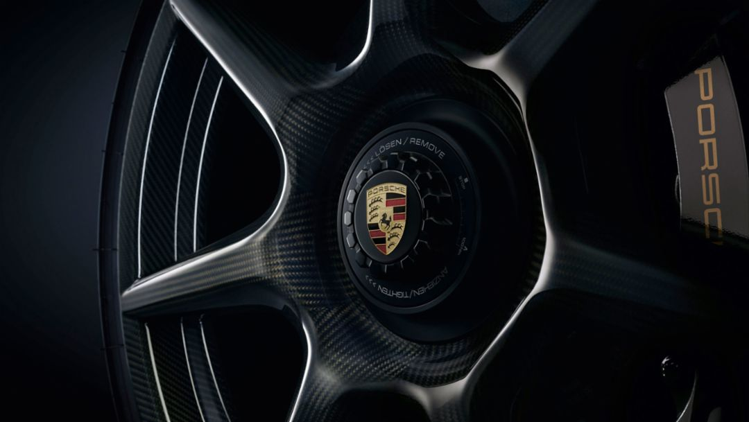 Porsche 20-inch 911 Turbo Carbon Wheel for the 911 Turbo S Exclusive Series, 2017, Porsche AG