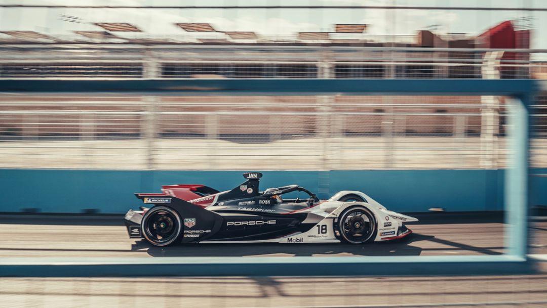 Воодушевляющее начало дебютного сезона Porsche в чемпионате Formula E