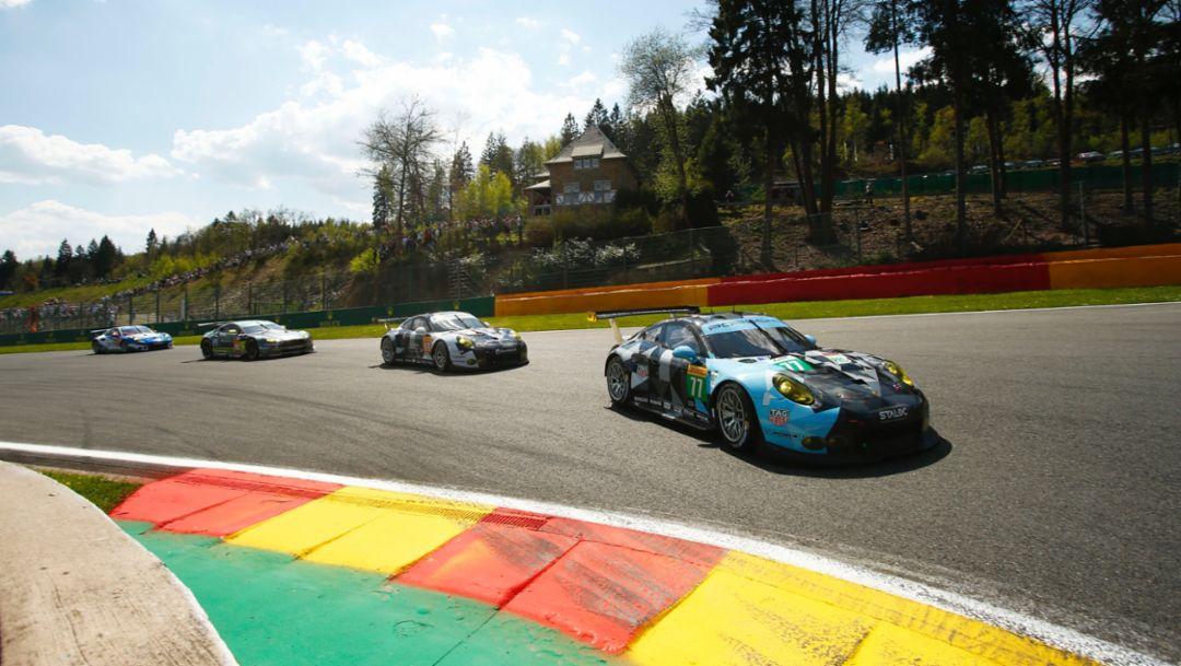 911 RSR, Spa-Francorchamps, WEC, 2016, Porsche AG