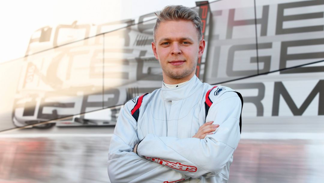 Kevin Magnussen, 2015, Porsche AG