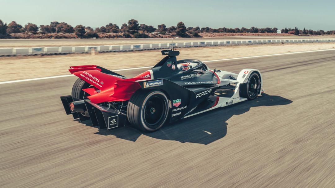 The Porsche 99X Electric enters its maiden Formula E season
