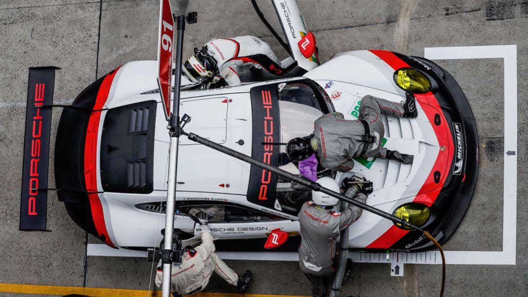 911 RSR, pit stop, 2017, Porsche AG