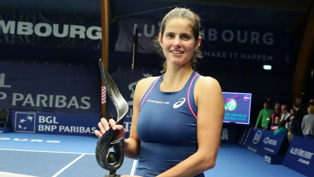 Julia Görges gewinnt WTA-Turnier in Luxemburg