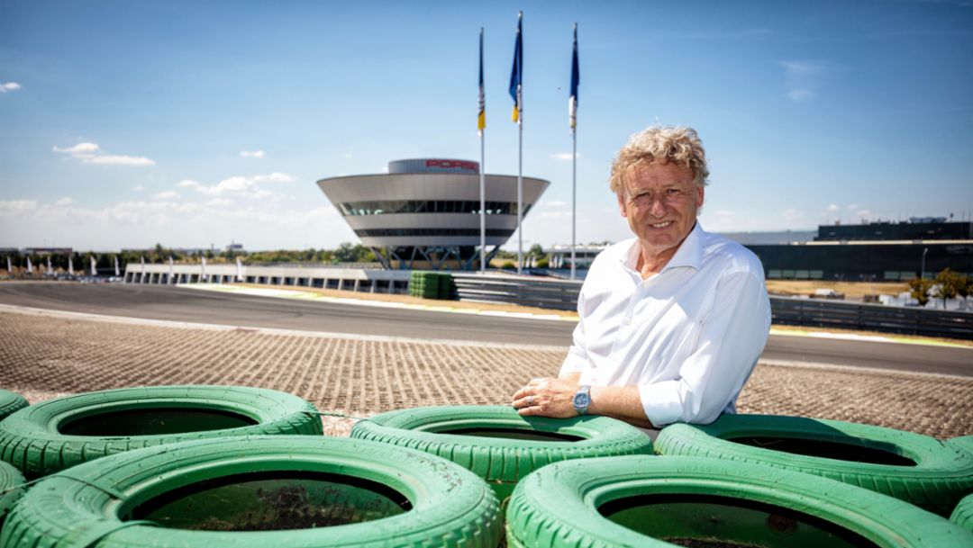 La vuelta al mundo en 11 curvas: el circuito de Porsche en Leipzig