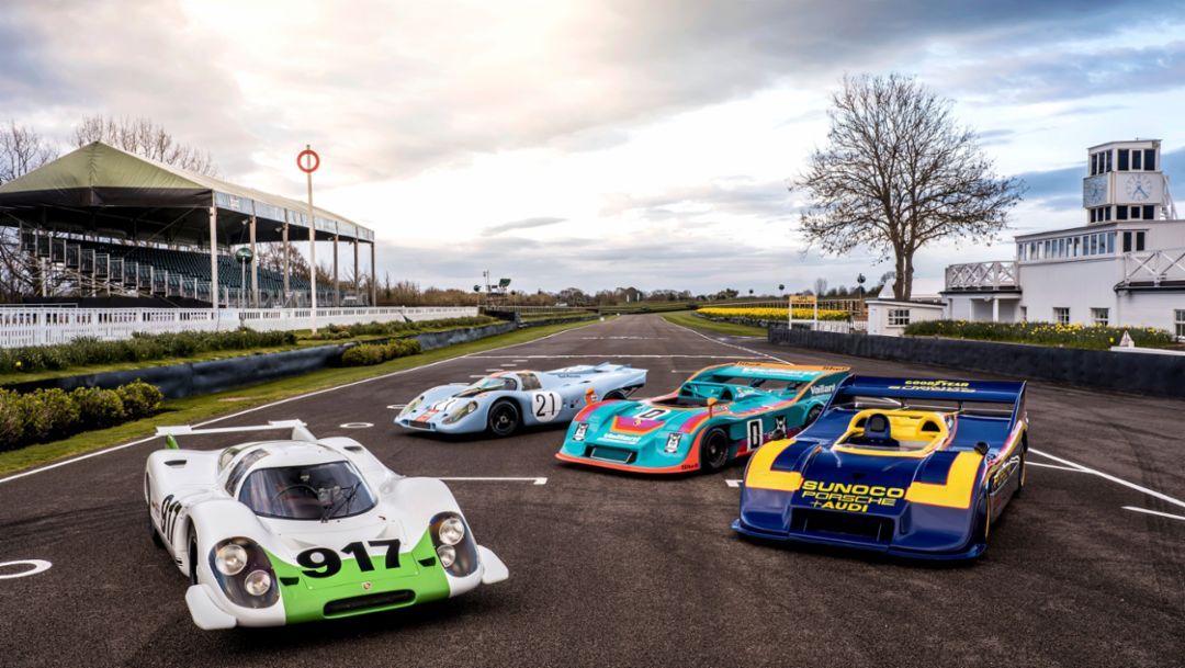50 Years Porsche 917: Showdown in Goodwood
