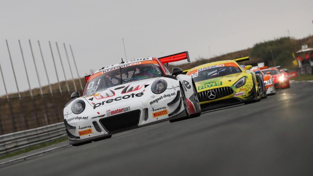 911 GT3 R, Precote Herberth Motorsport, ADAC GT Masters, 10. Lauf, Zandvoort, 2018, Porsche AG