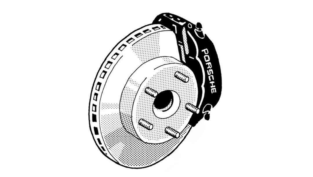 Anti-lock brakes (ABS), 1983, Porsche AG